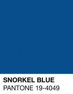 palette colri primavera estate 2016 pantone blu