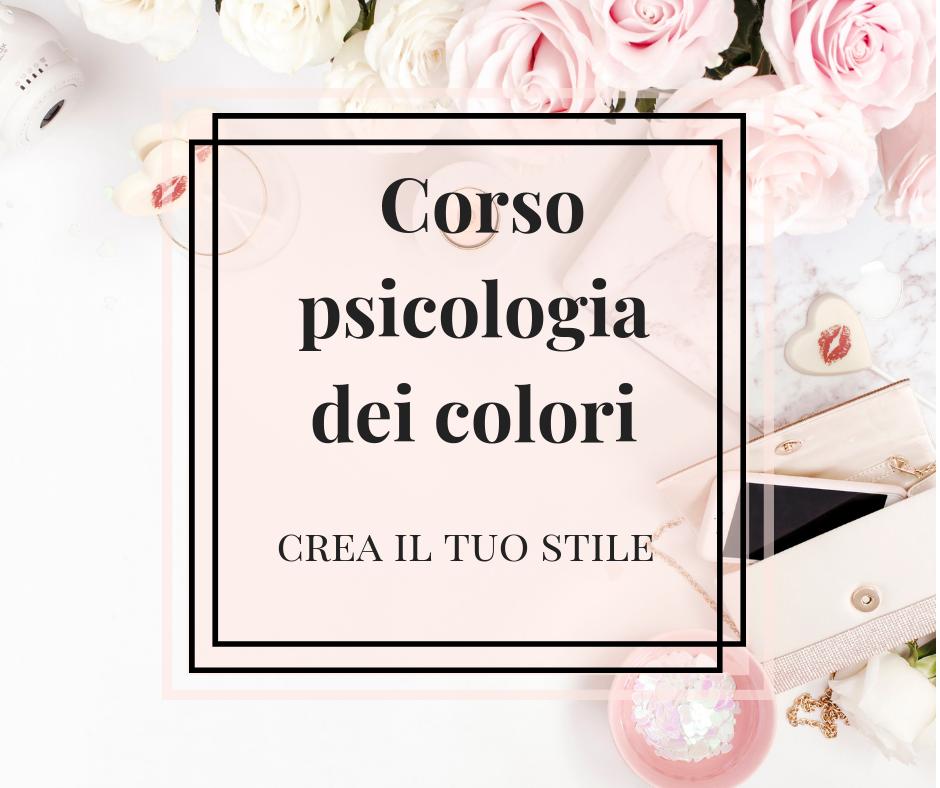 Corso psicologia dei colori