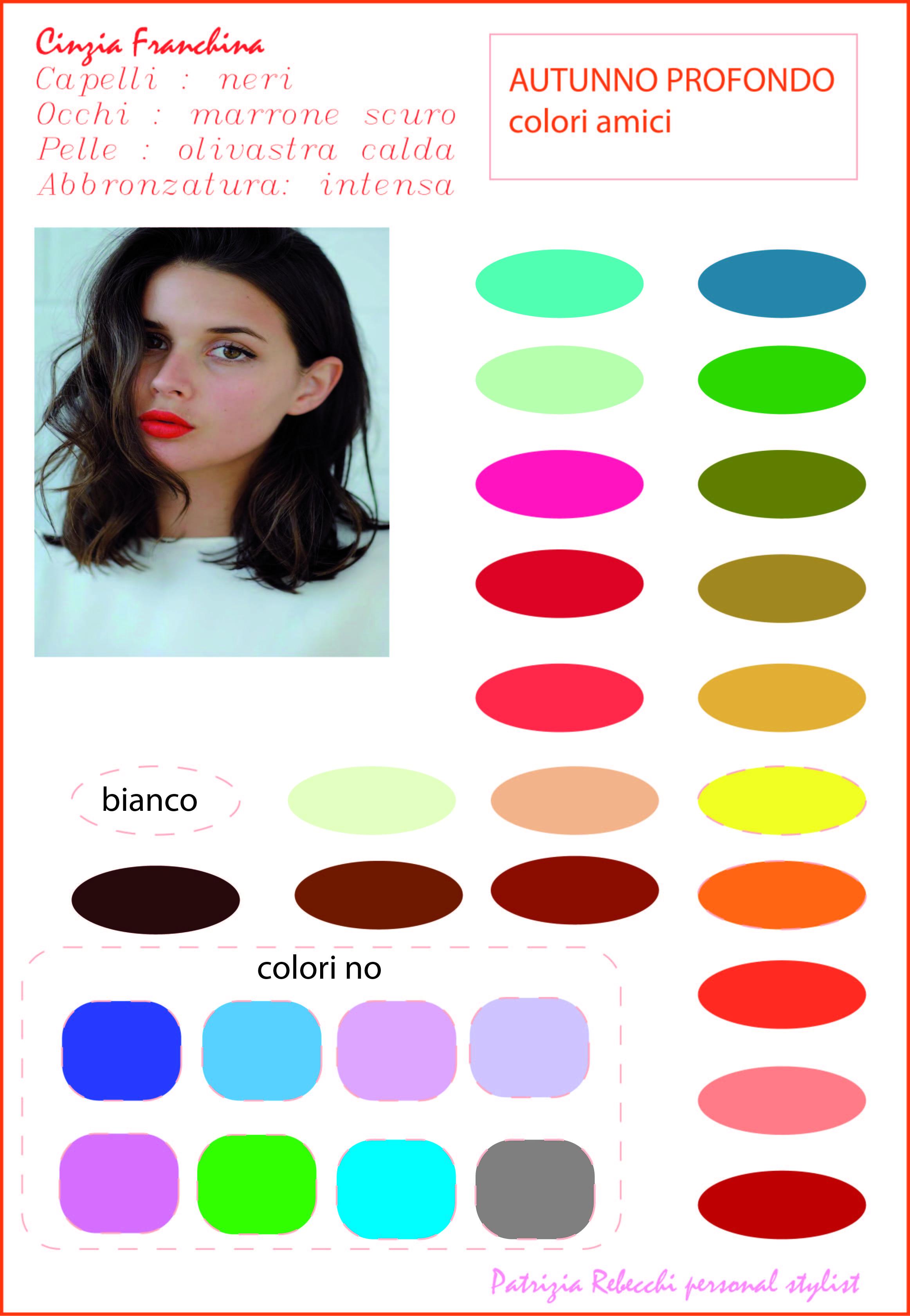 cartella colore personale